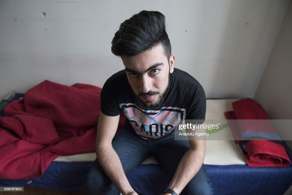 An Iraqi refugee, who has studied sports at a university in Iraq, is seen as he waits to be granted an asylum status at the Red Cross shelter, in Vienna, Austria on February 11, 2016. The refugee shelter is located right in the Vienna city centre, inside the building belonging to the University of Applied Arts. The premises were rented by the university to the Austrian Red Cross in 2015. According to this agreement, the shelter started operating in October 2015 and it will be open until May 2016. The Red Cross shelter has a capacity to host 1400 persons and 775 refugees live there. Around 90% of the refugees living in the shelter come from Iraq, Syria or Afghanistan. Over the last seven months, around 90,000 asylum seekers have applied for refuge in Austria, and at least 50,000 of these are expected to be deported. Military aircraft have been requisitioned for this purpose. The government also wants to cut social support to these asylum seekers.