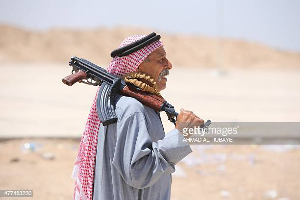 An Iraqi Sunni fighter from the Anbar province who joined Iraq's Popular Mobilisation force as part of government efforts to make the fight against...