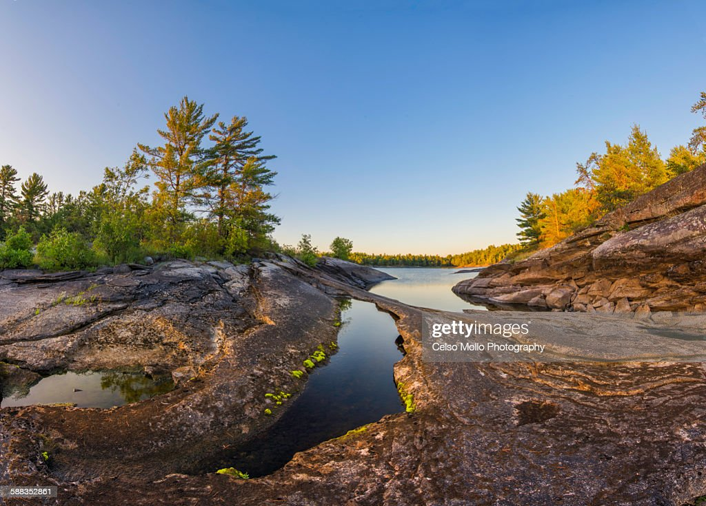 An Island on the French River