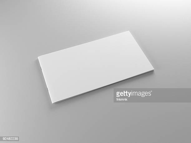 An isolated image of an empty piece of paper