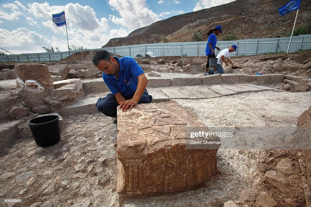 Jesus era synagogue discovered in the galilee getty images