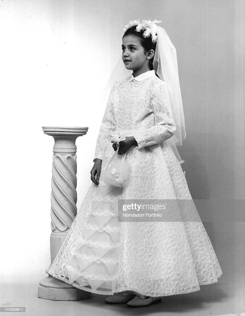 Italian style first communion dresses