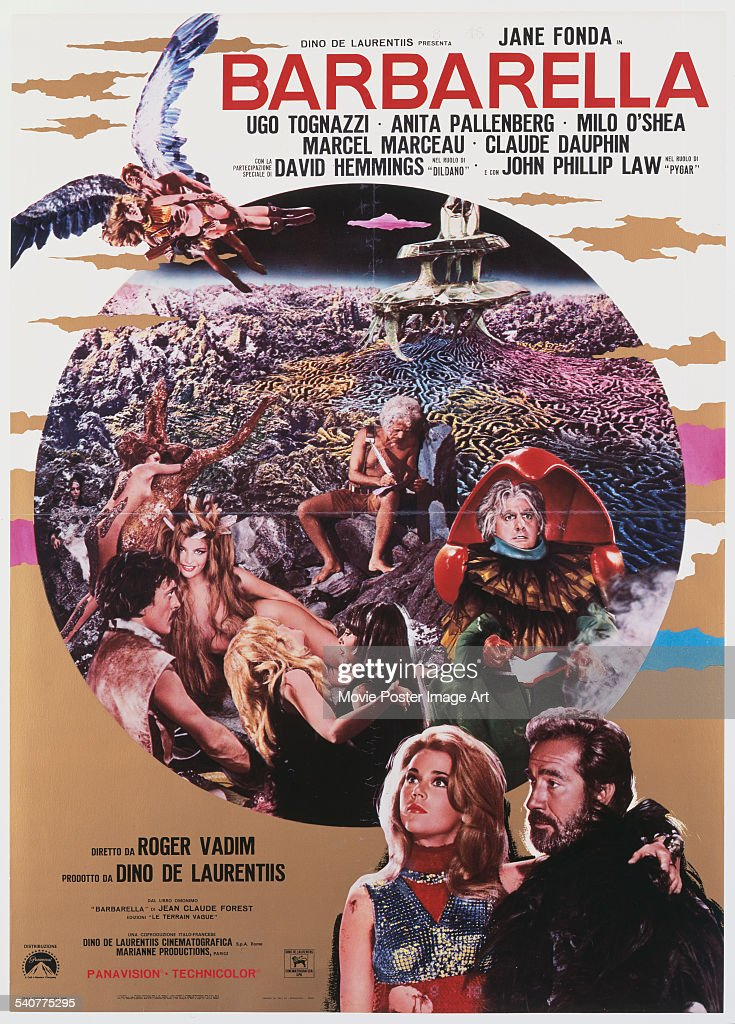 barbarella movie poster - photo #24