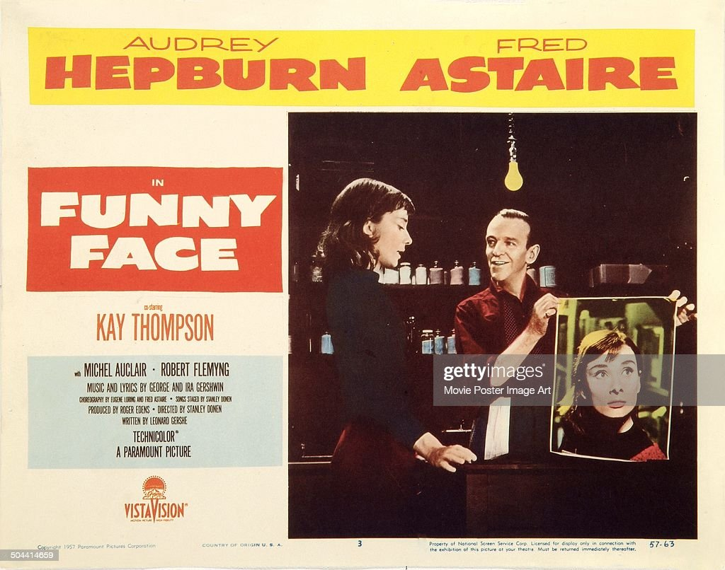 An Italian poster for Stanley Donen's 1957 musical 'Funny Face' (Italian title: Cenerentola a Parigi) starring <a gi-track='captionPersonalityLinkClicked' href=/galleries/search?phrase=Audrey+Hepburn&family=editorial&specificpeople=86470 ng-click='$event.stopPropagation()'>Audrey Hepburn</a> and <a gi-track='captionPersonalityLinkClicked' href=/galleries/search?phrase=Fred+Astaire&family=editorial&specificpeople=70031 ng-click='$event.stopPropagation()'>Fred Astaire</a>.