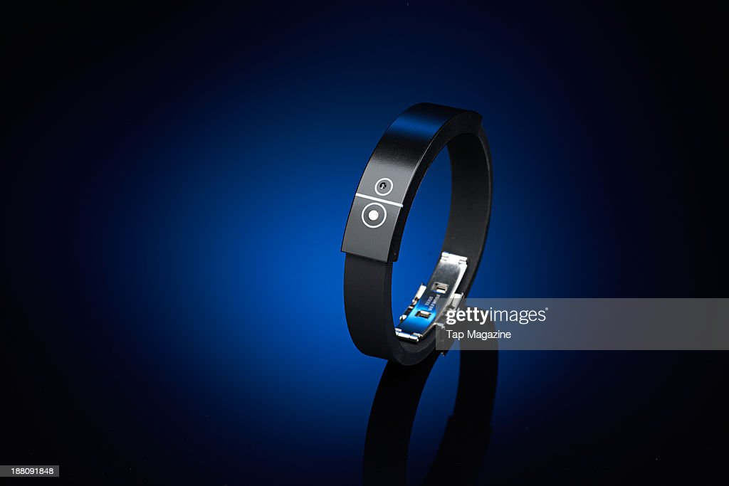 An It's Mine Smart Bluetooth bracelet photographed for a feature about proximity devices, taken on May 2, 2013.