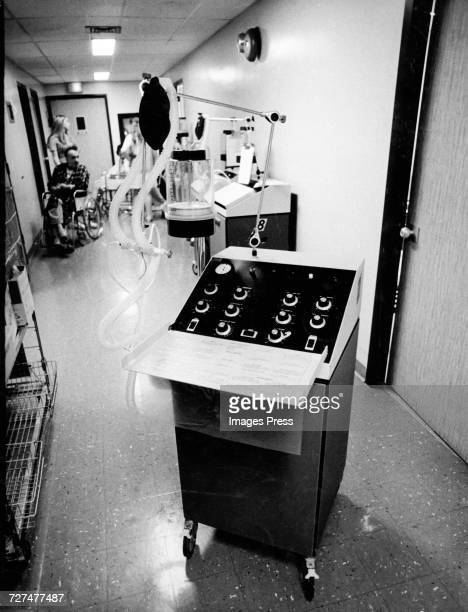 An MA1 Ventilator a similar unit was used to keep Karen Ann Quinlan alive circa 1975