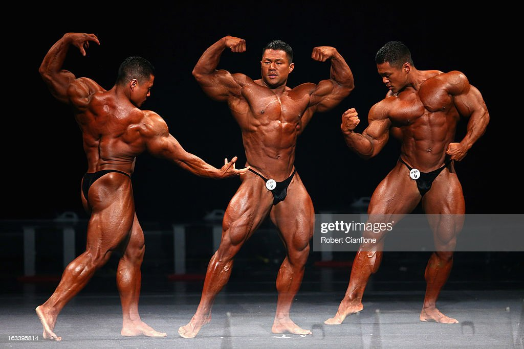 An Nguyen of the USA poses during the IFBB Australia Pro Grand Prix XII at The Plenary on March 9, 2013 in Melbourne, Australia.