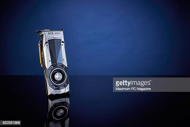 An Nvidia GeForce GTX 1080 PC graphics card taken on May 17 2016