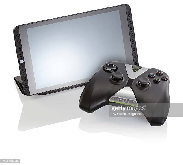An Nvidia Shield Tablet 16GB with wireless controller taken on August 8 2014