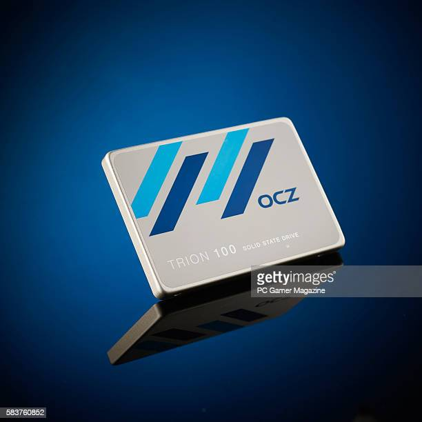 An OCZ Trion solidstate drive taken on January 12 2016