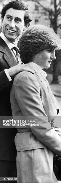 An official photograph taken at Buckingham Palace following the announcement of the engagement of Prince Charles to Lady Diana Spencer �Prince...