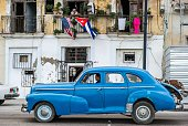An old American car is seen in a street of Havana on December 19 2014 AFP PHOTO/ Yamil LAGE / AFP / YAMIL LAGE