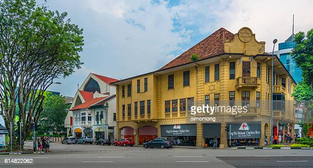 an old building  in Dhoby Gghaut Singapore