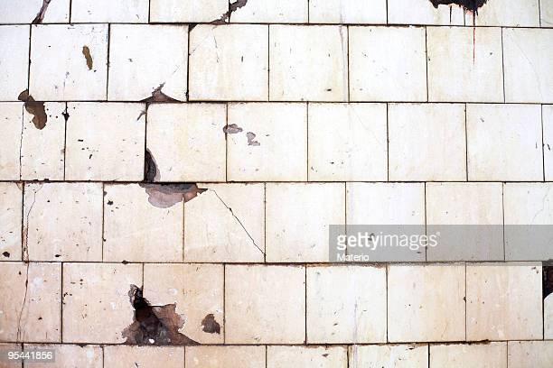 Geflieste Wand