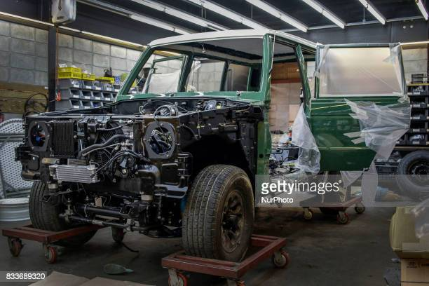 An old HMC gallopper re install at mohenic grages in Paju South Korea A 20yearold beat up Hyundai SUV isn't anyone's idea of a dream car But used...