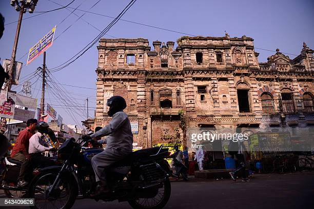 An old mansion in very bad condition near the Allahabad university on November 19 2014 in Allahabad India