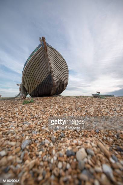 An Old Wooden Fishing Boat, Dungeness