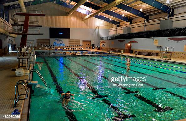 An Olympic sized swimming pool and diving facility are part of a huge swim and gym center in Tunica built since the casino money came to the area...