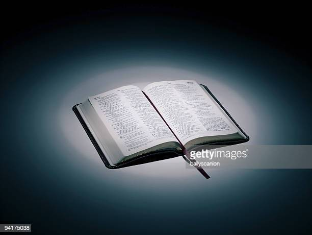 An Open Bible.