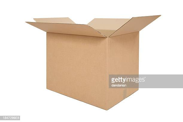 Boîte ouverte