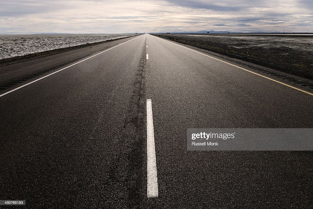 An open road