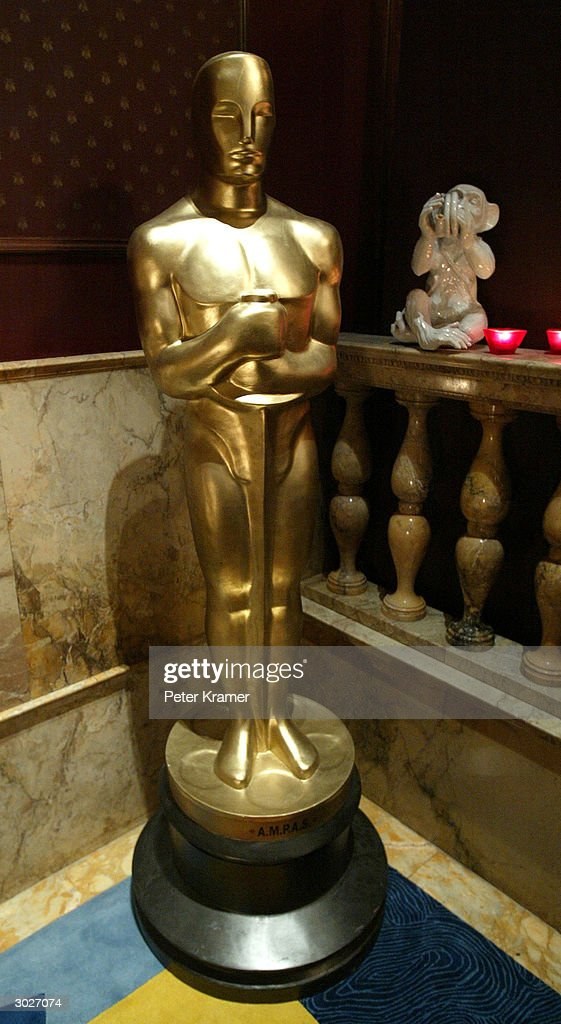 An Oscar statue is seen during the AMPAS Official Oscar Night Celebration at Le Cirque February 29, 2004 in New York City.