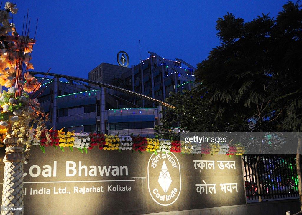 An outside view of Coal Bhawan of Coal India Ltd at Rajarhat on May 15, 2015 in Kolkata, India.