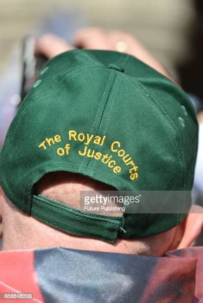 An outside view of Royal Courts of Justice after Royal Marine Alexander Blackman hearing on March 28 2017 in London England A Royal Marine convicted...