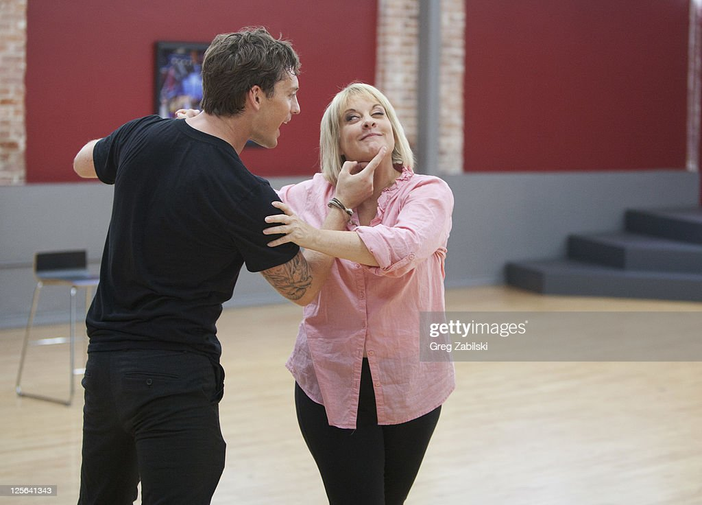 STARS - REHEARSALS - An outspoken, tireless advocate for victims' rights and one of TV's most respected legal analysts, Nancy Grace is the powerful force behind HLN's top-rated 'Nancy Grace.' She joins last season's Troupe member Tristan MacManus, who makes his 'Dancing with the Stars' debut as a professional partner this season. A dynamic lineup of stars will take the stage performing either the Cha Cha Cha or The Viennese Waltz for the two-hour season premiere of 'Dancing with the Stars,' MONDAY, SEPTEMBER 19 (8:00-10:01 p.m., ET) on the ABC Television Network. TRISTAN