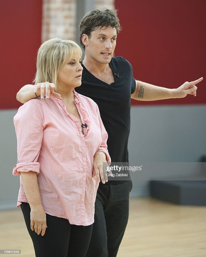 STARS - REHEARSALS - An outspoken, tireless advocate for victims' rights and one of TV's most respected legal analysts, Nancy Grace is the powerful force behind HLN's top-rated 'Nancy Grace.' She joins last season's Troupe member Tristan MacManus, who makes his 'Dancing with the Stars' debut as a professional partner this season. A dynamic lineup of stars will take the stage performing either the Cha Cha Cha or The Viennese Waltz for the two-hour season premiere of 'Dancing with the Stars,' MONDAY, SEPTEMBER 19 (8:00-10:01 p.m., ET) on the ABC Television Network. NANCY