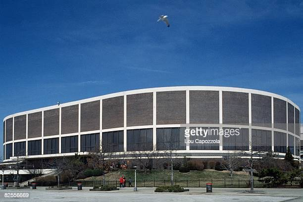 An overall scenic shot of the Spectrum during the 1995 season in Philadelphia Pennsylvania NOTE TO USER User expressly acknowledges that by...