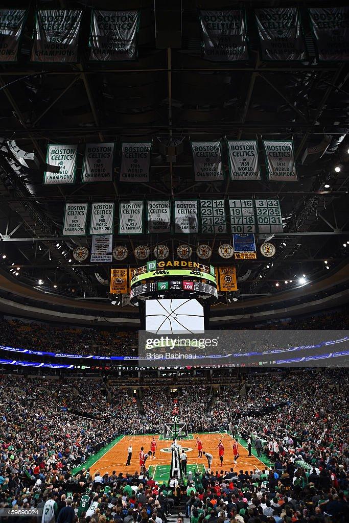 Chicago Bulls V Boston Celtics Getty Images