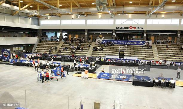 An overall view during the NHL Combine at HarborCenter on June 3 2017 in Buffalo New York