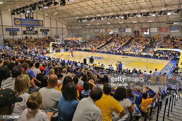 An overall view of the Santa Cruz Warriors game against the Fort Wayne Mad Ants during the NBA DLeague Finals game on April 26 2015 at Kaiser...