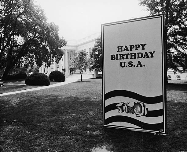 Bicentennial Birthday Card At White House Pictures – White House Birthday Cards