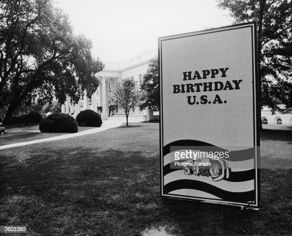 Bicentennial Birthday Card At White House Pictures – Oversized Birthday Cards