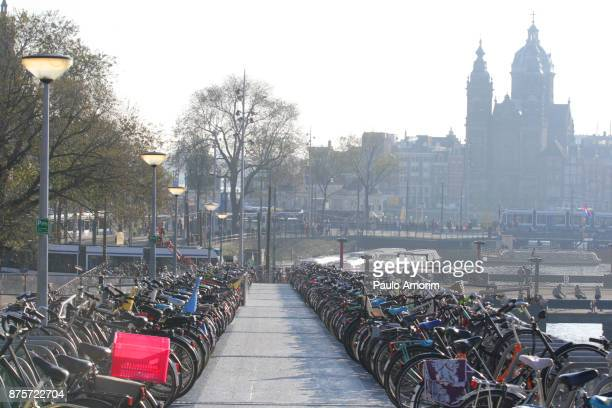 An overview of the center of Amsterdam
