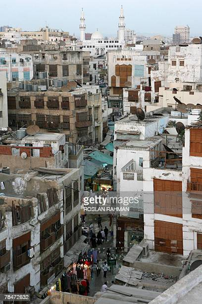 An overview of the old market of the ancient city of Balad in the Red Sea city of Jeddah 13 December 2007 More than 15 million Muslims from around...