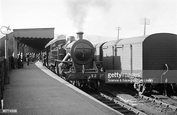 An S2 class locomotive with the Belfast Express by Patrick RansomeWallis Ulster's railways were nationalised in 1948 Many of the railway's steam...