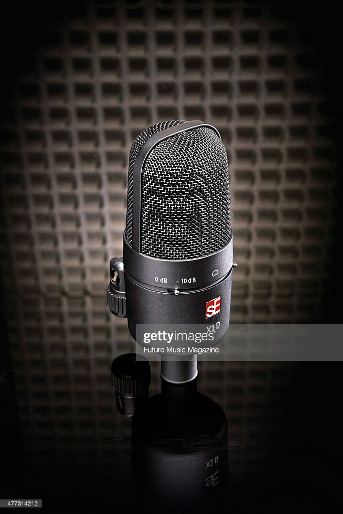 An sE Electronics X1D condenser microphone taken on August 1 2014