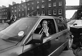 An Taoiseach Albert Reynolds arrives at government buildings Sunday Tribune 11/2/92 PIC TONY GAVIN 1990's