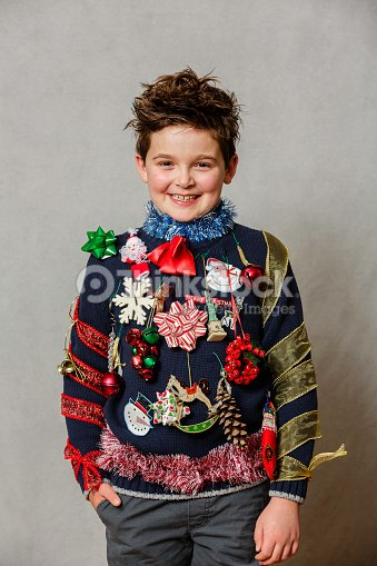 fff94eb0e An Ugly Christmas Sweater Stock Photo - Thinkstock