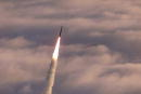 An unarmed Minuteman II intercontinental ballistic missile launches from Vandenberg Air Force Base California Missile Defense Agency is expected to...