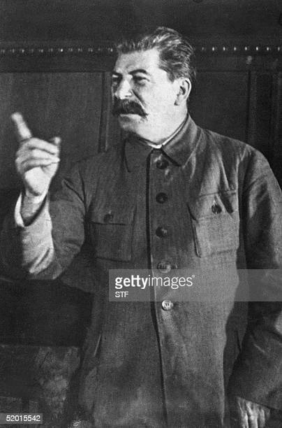An undated file photo of Soviet dictator Joseph Stalin