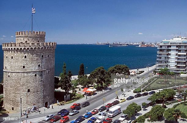 An undated file picture of the White Tower a 15th century monument that is the best known landmark in the Greek city of Thessaloniki The White Tower...