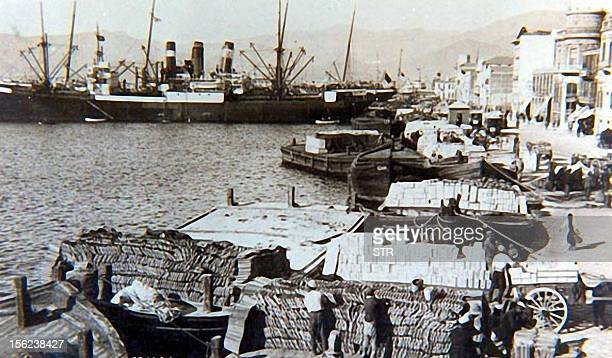 An undated handout picture shows the port in the Aegean city of Izmir A US television series has rekindled a debate in Turkey over the great 1922...