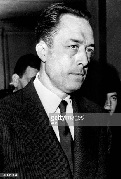 An undated picture of French philosopher Albert Camus AFP PHOTO / ORTF