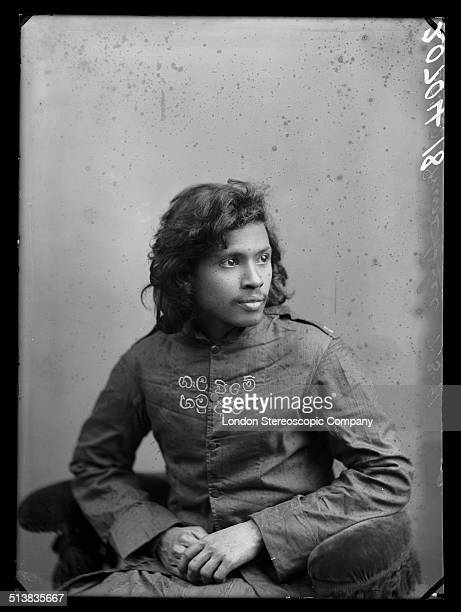 An unidentified member of the Salvation Army 3rd November 1890