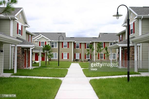 An upscale condominium community