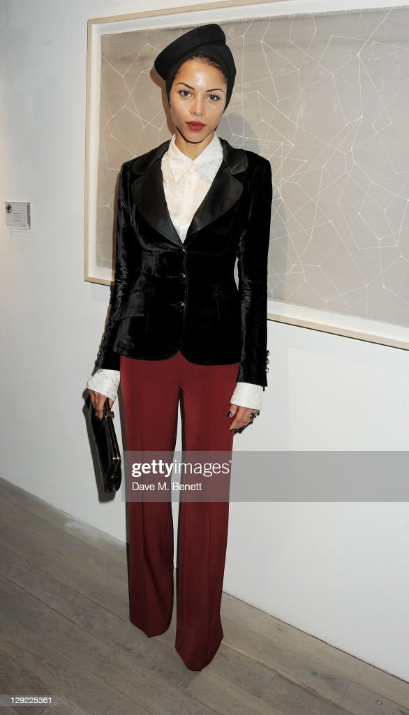 Ana Araujo attends 'Arts For Human Rights', the inaugural Bianca Jagger Human Rights Foundation Gala supported by Swarovski, at Phillips de Pury And Company on October 14, 2011 in London, England.